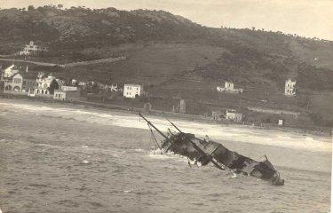 Tres pescadors guixolencs salvaren vint-i-un homes d'un naufragi?